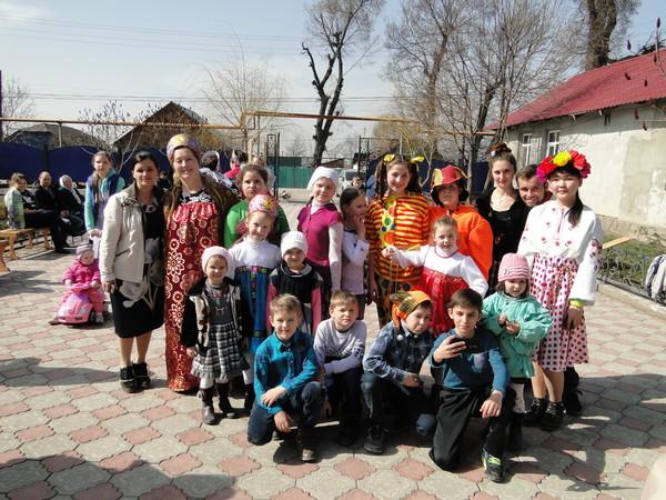 Масленичная неделя. Село Бельбулак