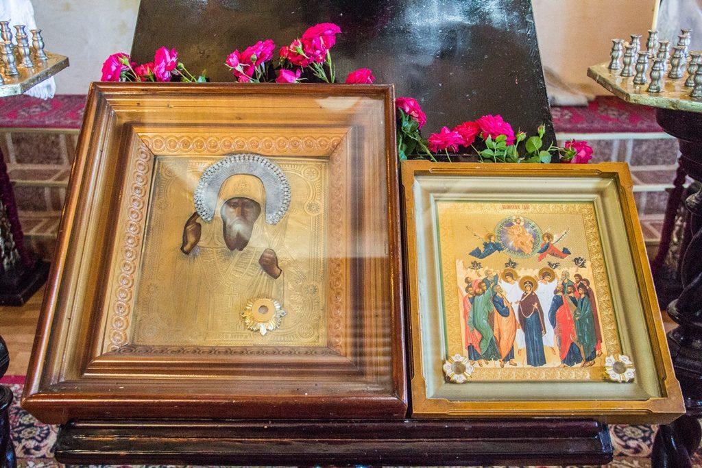 Престольный праздник храма святителя Алексея Московского села Байтерек