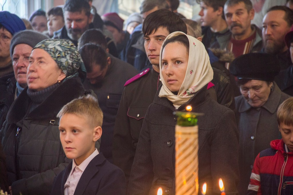 Престольный праздник храма архангела Михаила, села Тургень
